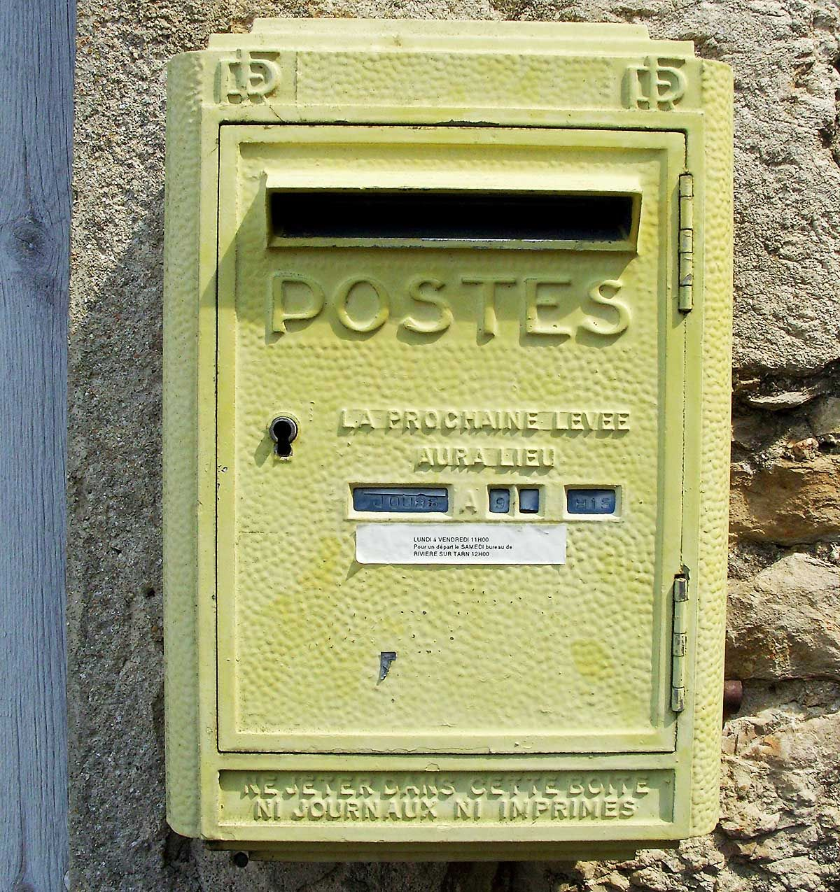 Boites aux lettres Rivière-sur-Tarn