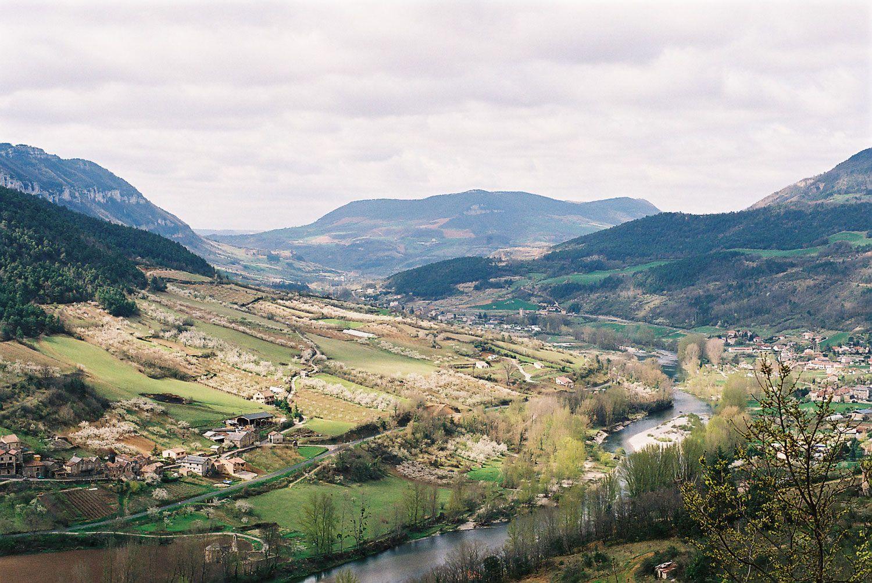 Peyrelade - Panorama sur Gorges du tarn