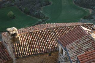 Les toits du gîte