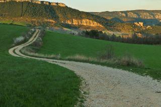 Le château de Peyrelade à l'entrée des Gorges de la Jonte